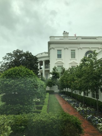 Sarah and I are visiting the White House!