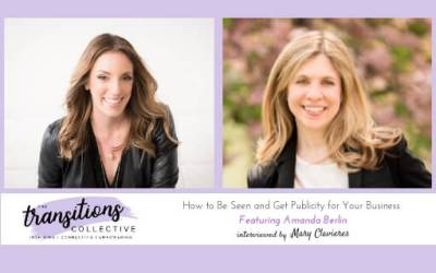 Episode 08: How to Be Seen and Get Publicity for Your Business
