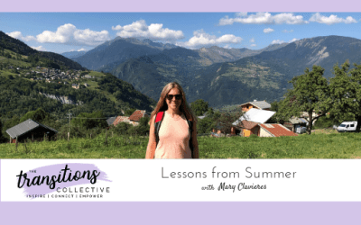 Episode 34: Lessons from Summer