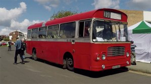 Classic Bristol LH Bus at the Scarborough Bus Fest 2017
