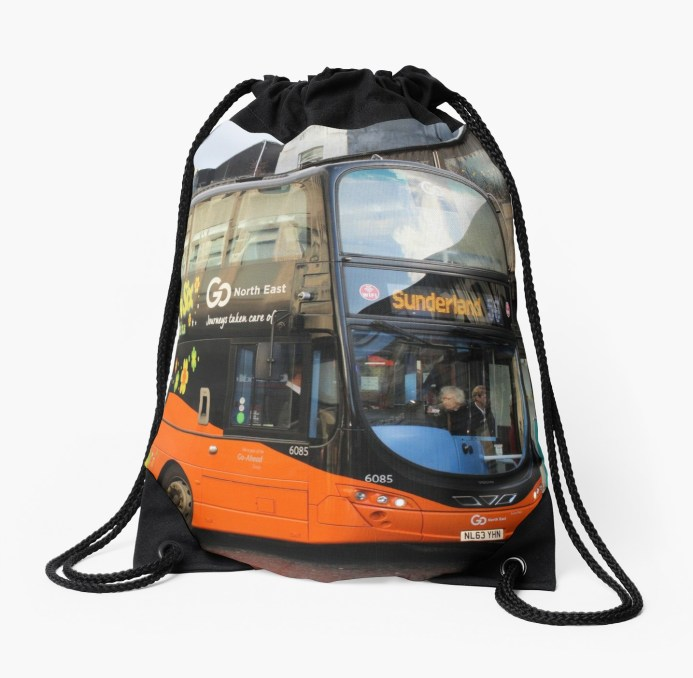 Fab Fifty Six Night Bus Bag