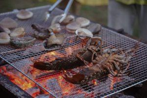 Hamabeのコテージ銀の海 大瀬  BBQ