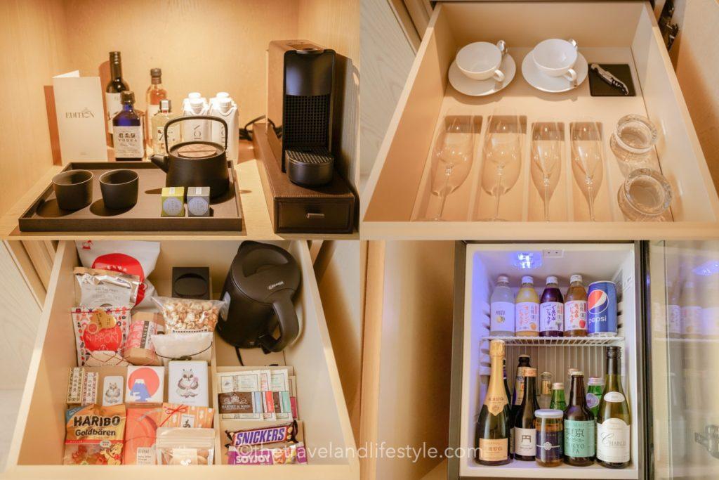 THE TOKYO EDITION_Room minibar