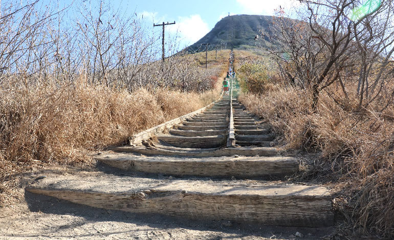 The Koko Head Crater Hike Photo1