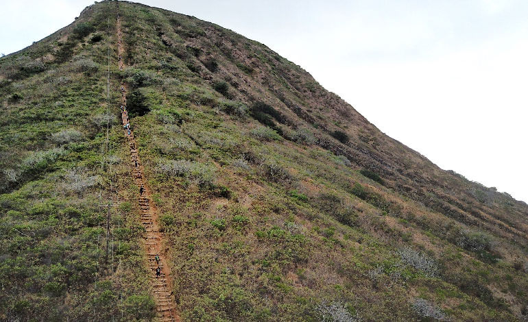 The Koko Head Crater Hike Photo2