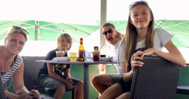 Familien i Seaside, Florida