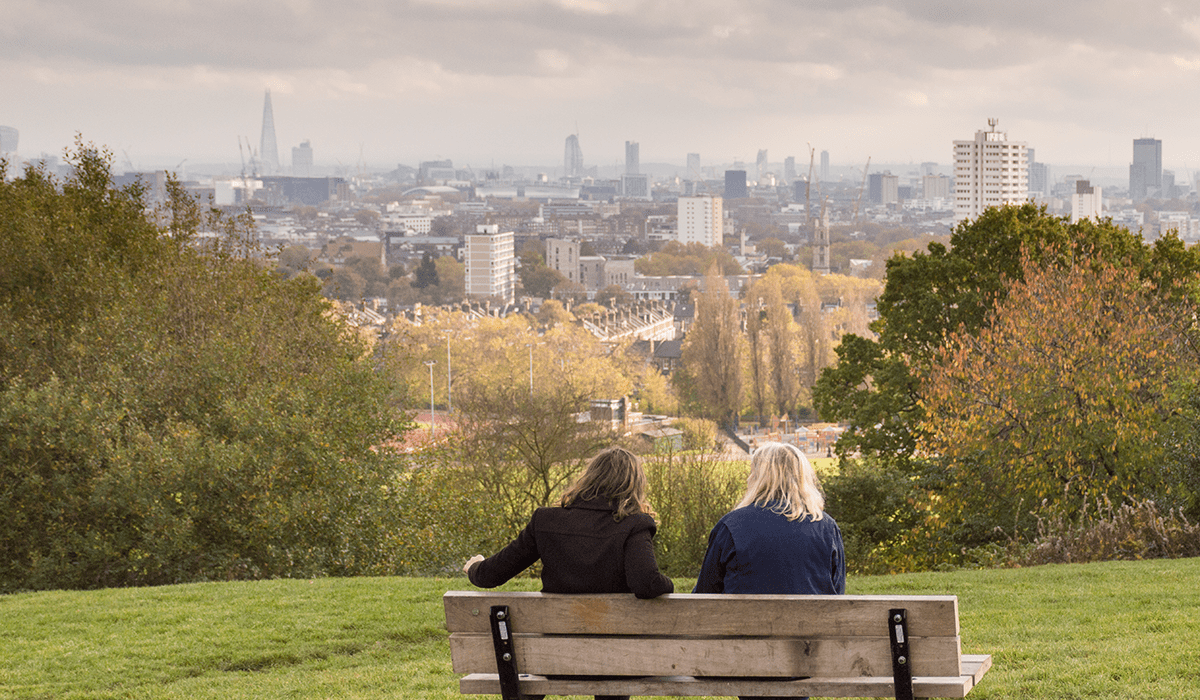 Primrose Hill. London by The Travel Book Co