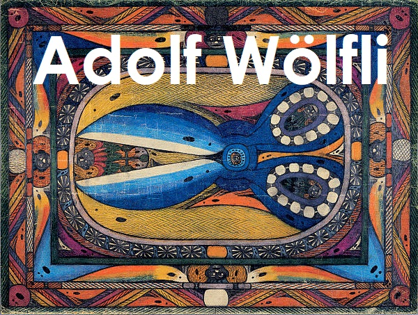 Adolf Wölfli's Controversial Crazy Art