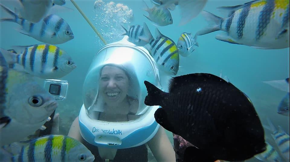 , Bali 2018: Seawalker Experience, The Travel Bug Bite