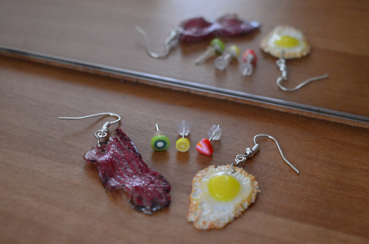 How to Wear Food-Themed Earrings? Part 2