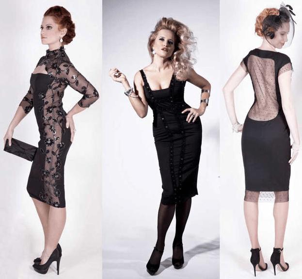 , Alena Wilson makes little black dresses for real women, The Travel Bug Bite