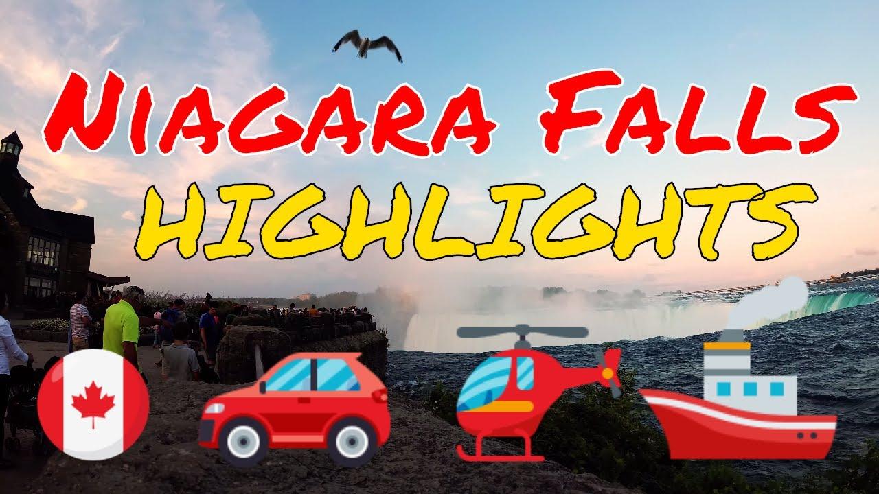 , Video Highlights of Niagara Falls 2018, The Travel Bug Bite