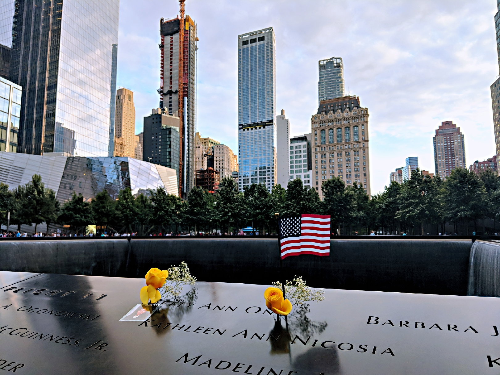 , Visiting the 9/11 Memorial: New York, 2018, The Travel Bug Bite