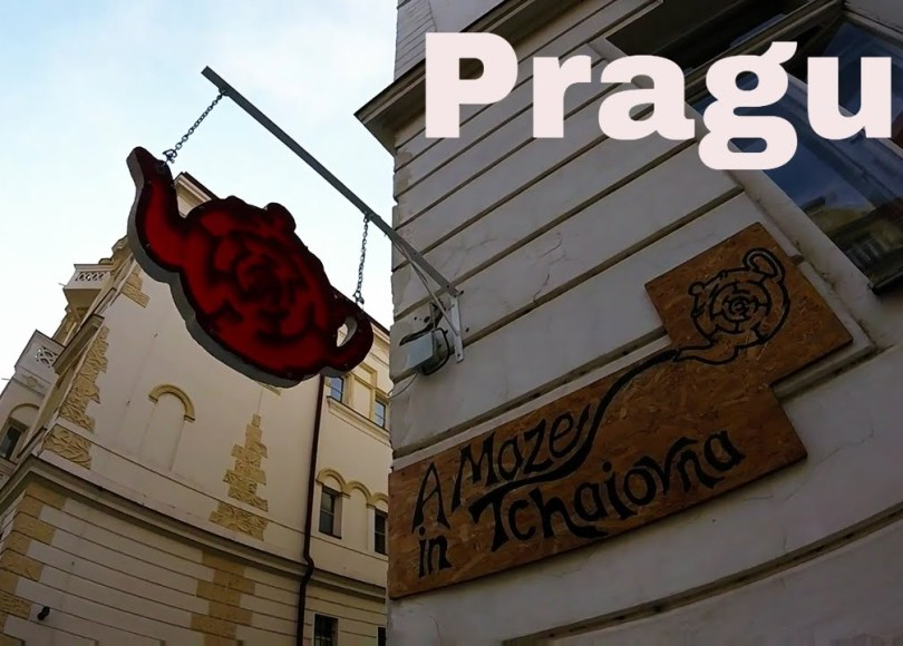 , Best Tea House (with Beer) in Prague: A Maze In Tchaiovna