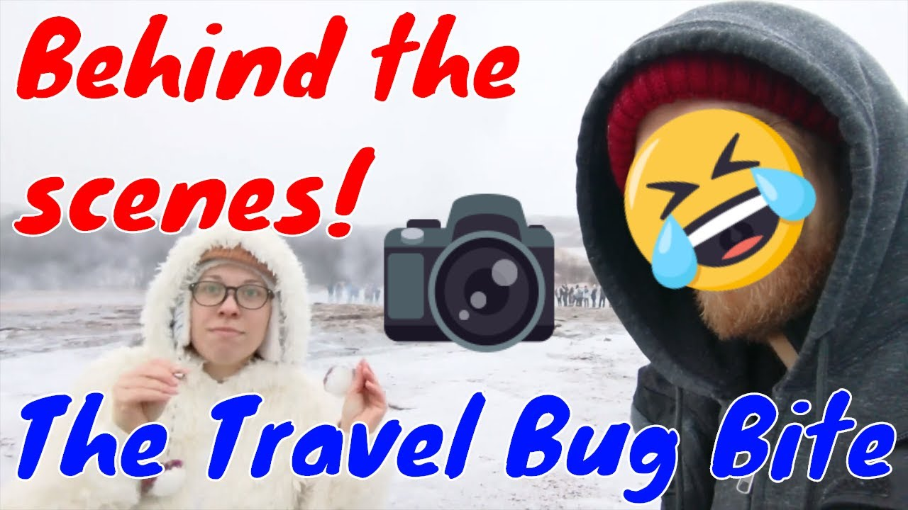 , Waiting for the Icelandic Geyser to Erupt, The Travel Bug Bite