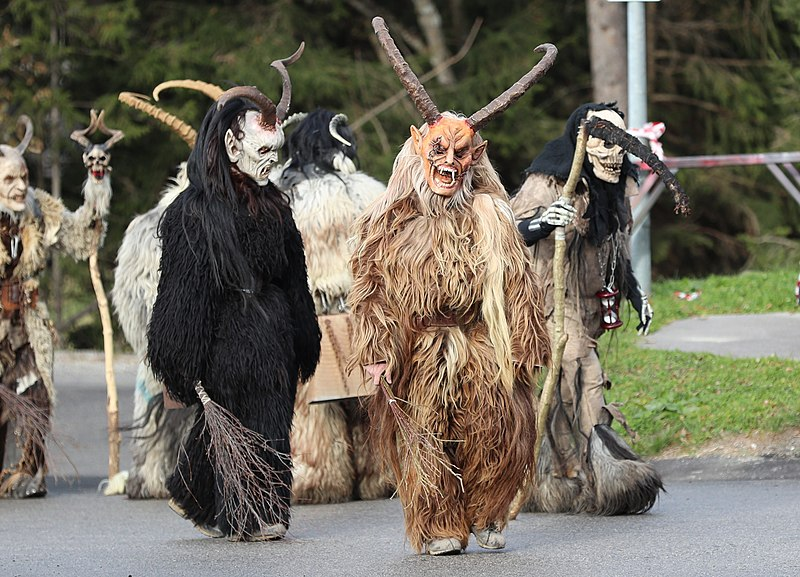 Krampus, Krampus Brings the Scary Back to Christmas: Austria, The Travel Bug Bite