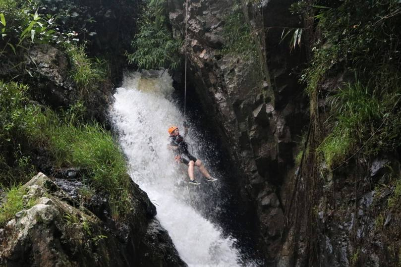 Canyoneering in Da Lat, Vietnam