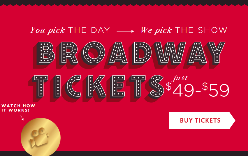 Broadway Tickets, $89 Orchestra Seat Broadway Tickets: Catch? You Don't Pick the Show, The Travel Bug Bite