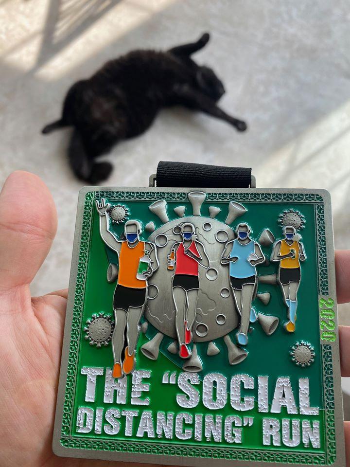Social Distancing Run, Social Distancing Run: Virtual Marathon Training Academy Race, The Travel Bug Bite