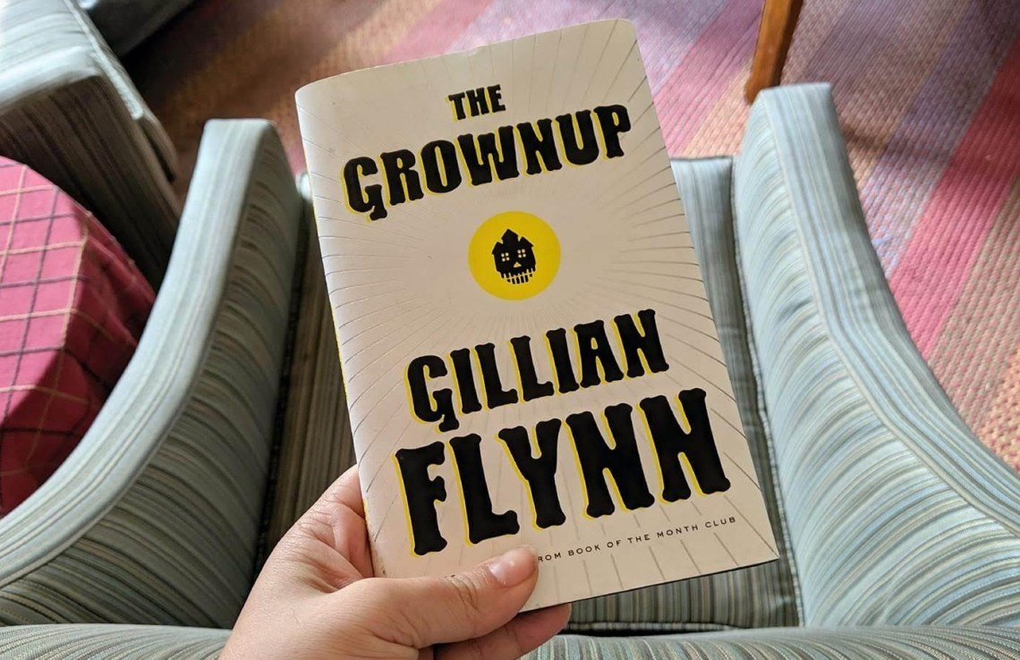 The Grownup, The Grownup by Gillian Flynn: Book Review, The Travel Bug Bite