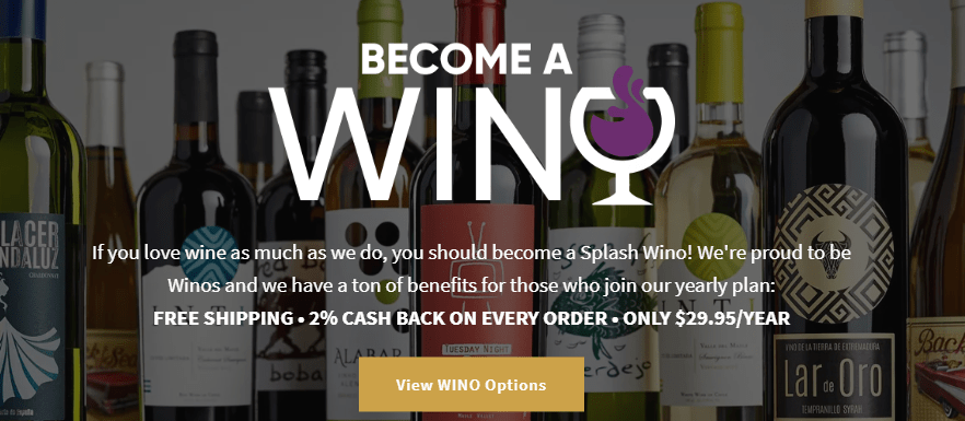 Splash Wines, Splash Wines: 15 Bottles, $6.99 Each, Free Delivery, The Travel Bug Bite