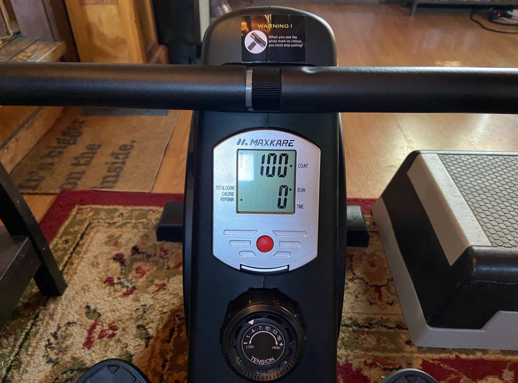 MaxKare Magnetic Rowing Machine, MaxKare Magnetic Rowing Machine for $246: Review, The Travel Bug Bite