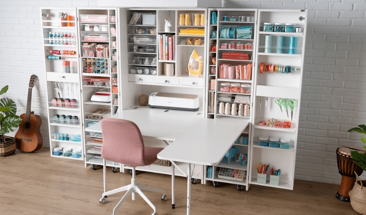 Craft Room Storage Tips, 10 Craft Room Storage Tips to Save Space & Money, The Travel Bug Bite