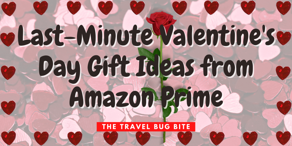 Last Minute Valentine's Day Gifts, Last-Minute Valentine's Day Gift Ideas from Amazon Prime, The Travel Bug Bite