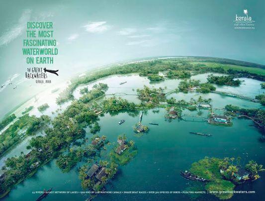 A spectacular view courtesy Kerala Tourism