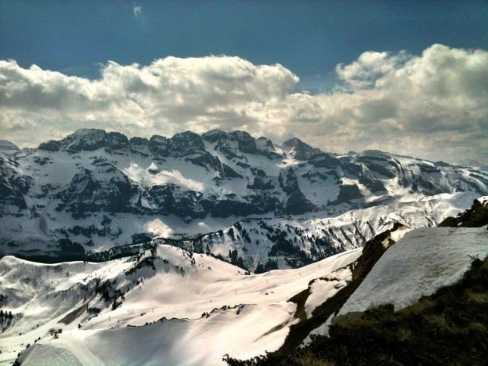 Mountain Scene, Avoriaz
