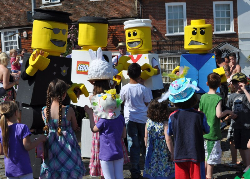 Lego Men Fancy Dress