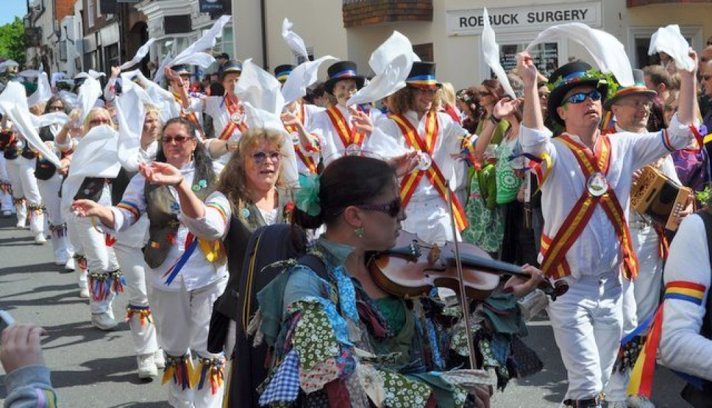 Morris Dancers, Hastings