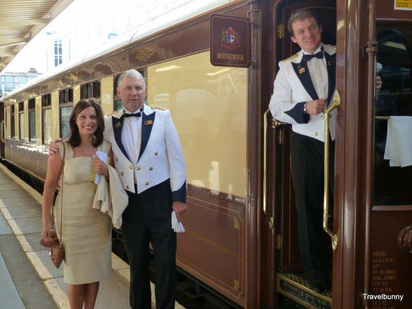 Vintage Train Travel with Orient Express