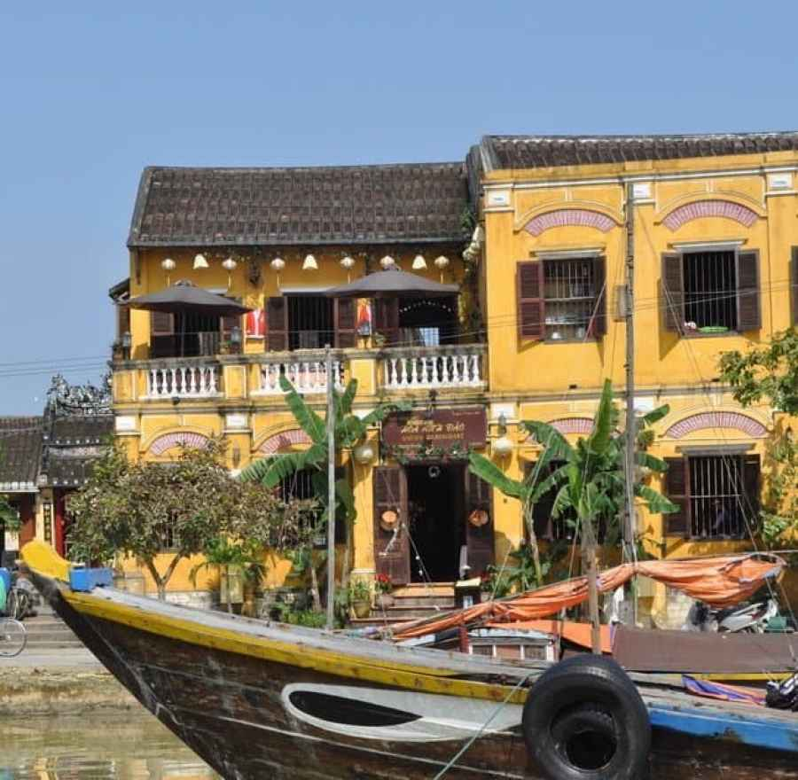 Boats on Hoi An River