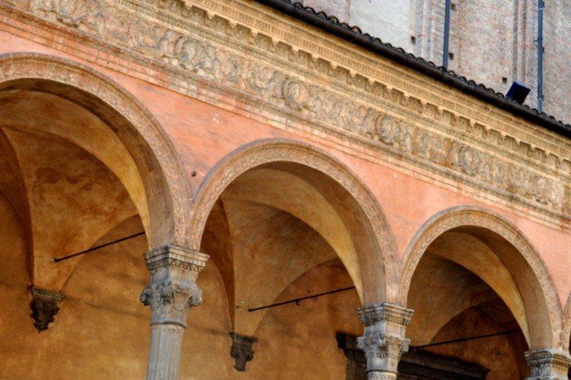Portico Details, Bologna, Italy
