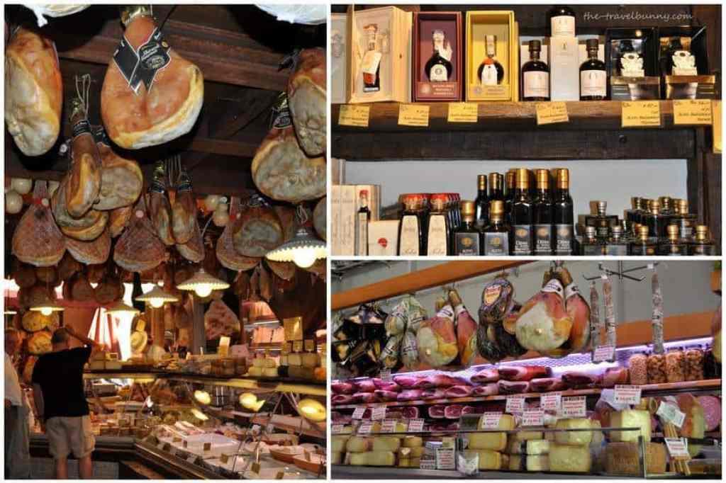 Salumeries Bologna Proscuitto