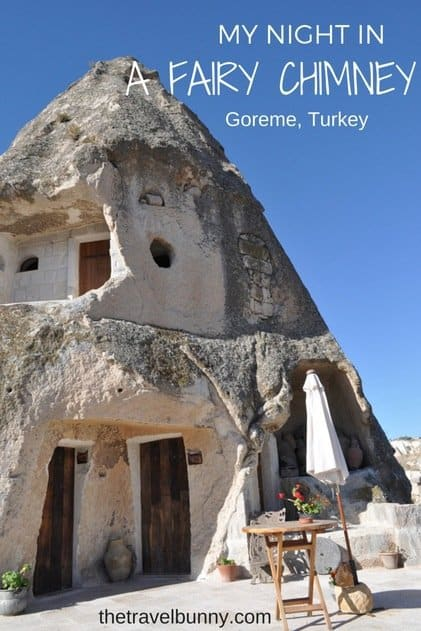 Hotel review - a stay in a fairy chimney at Kelebek Special Cave Hotel, Goreme Turkey