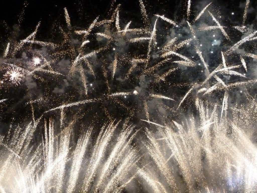 Fireworks at Burning the Clocks