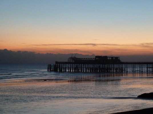Hastings Pier - December