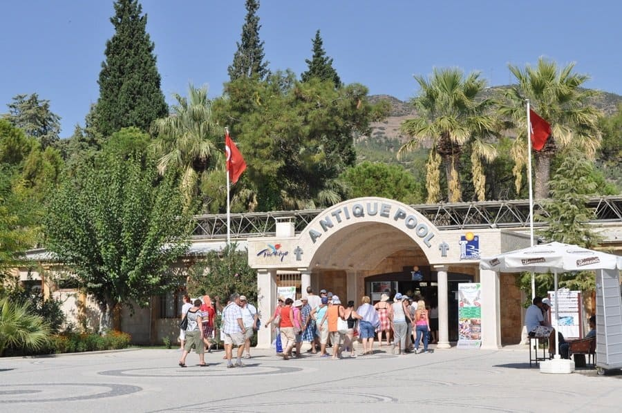 Antique Pool at Hierapolis