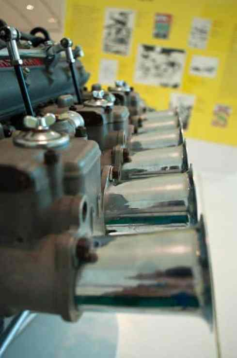 1958 Maserati Tipo 250F 6 Cylinder Engine