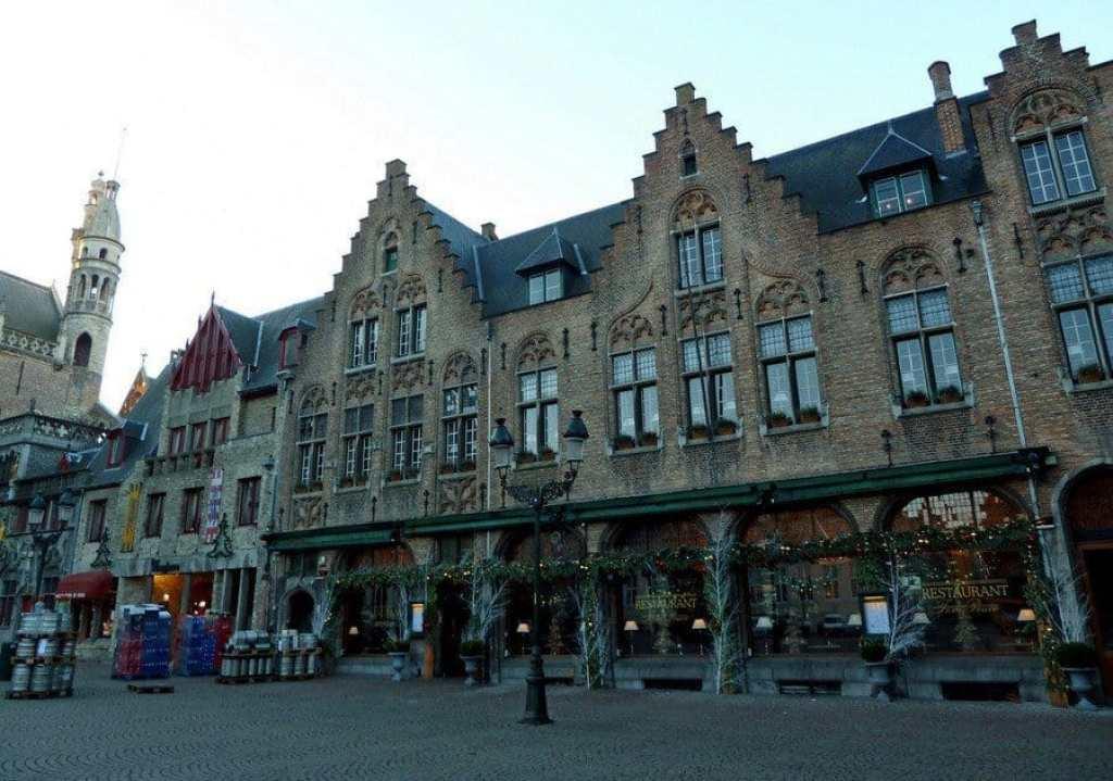 Medieval Houses, Bruges
