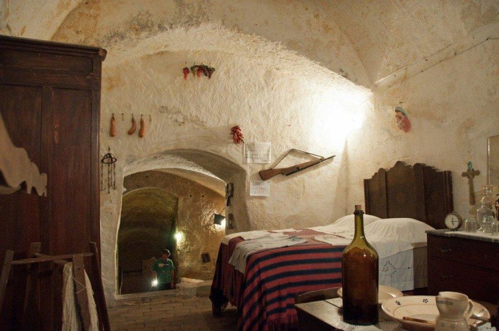 Casa Grotta di Vico Solitario. Matera