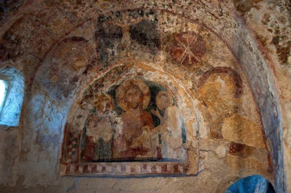 Fresco in Matera Church