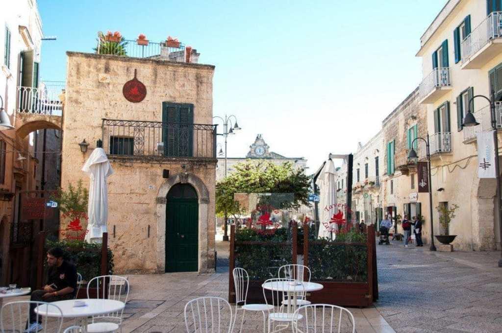 Matera's Pedestrian Area