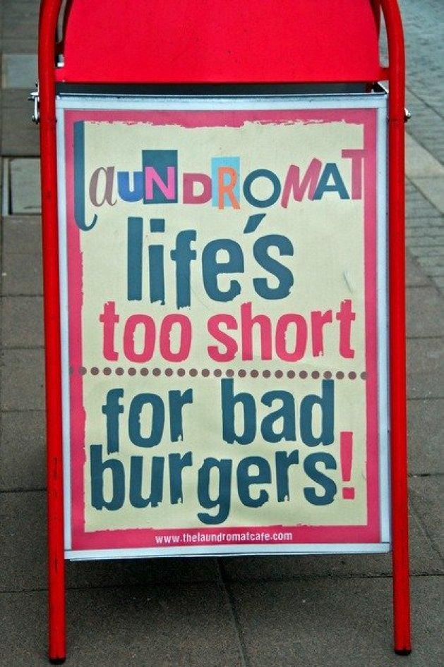 Burgers Laundromat