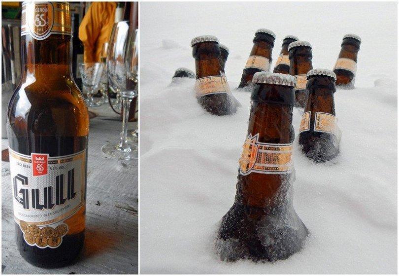 Gull Beer, Iceland