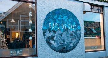 Reykjavik Mural Days of Grey