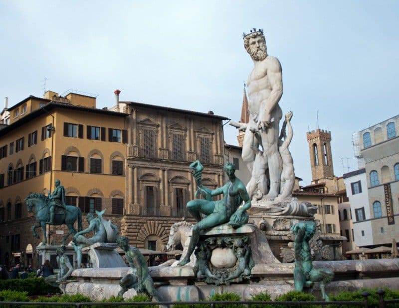 Neptue Fountain, Florence