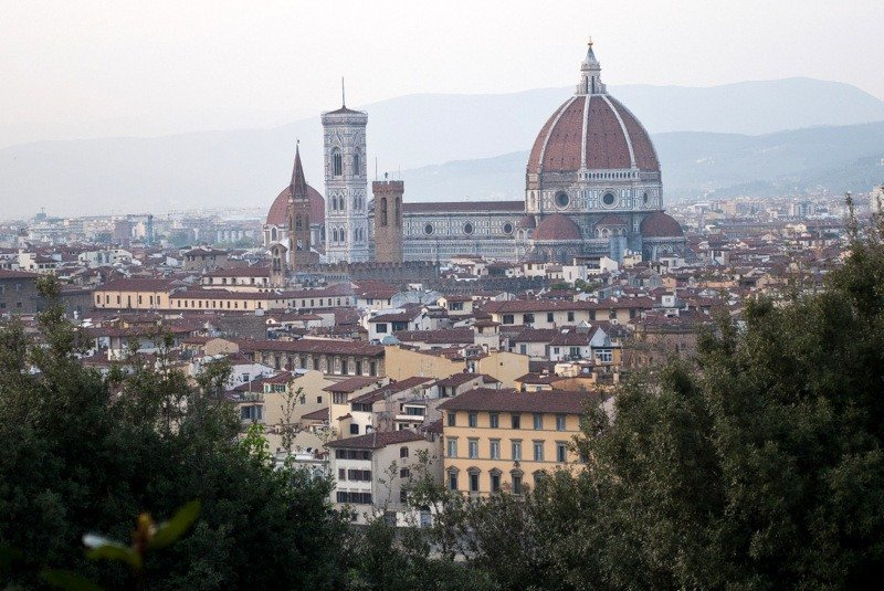 Florence – A Fleeting Visit